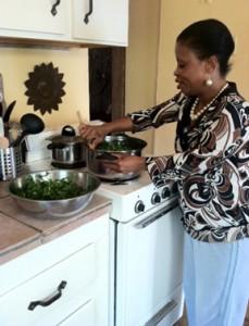 stirring amaranth
